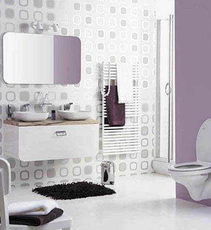 Retro badkamer van de Praxis - Badkamers voorbeelden