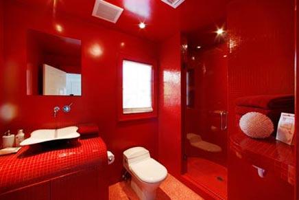 Rode Accessoires Badkamer : Rode badkamers voorbeelden archives badkamers voorbeelden