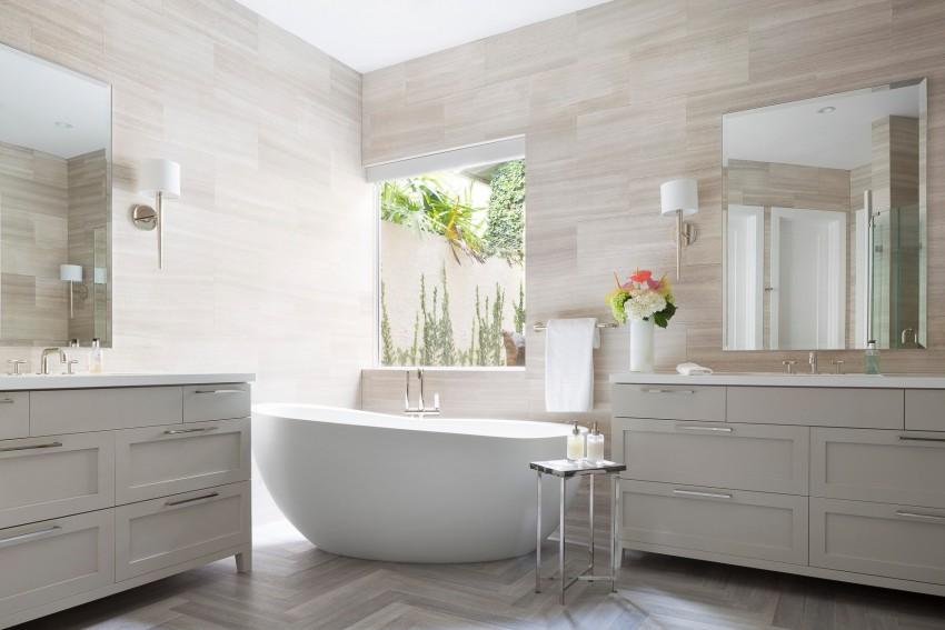 Romantische badkamer door Kista Watterworth Design Studio ...