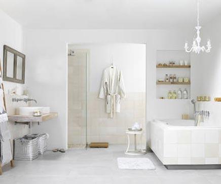 Romantische badkamer Romance van Wooning