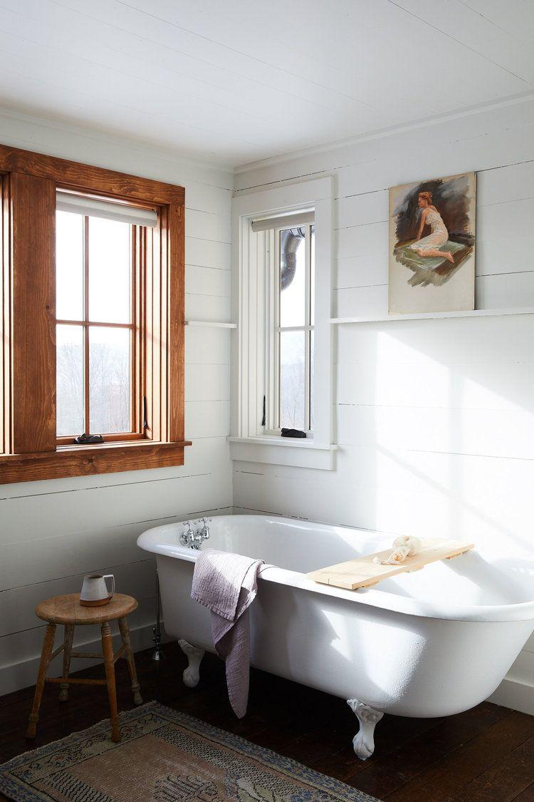 rustieke badkamer eenvoud