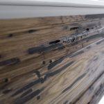Rustieke houten zwevende badkamermeubel van Blue Provence