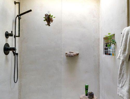 Rustieke landelijke badkamer in Spaanse droomhuis