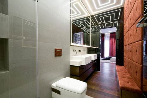Sauna in luxe penthouse appartement