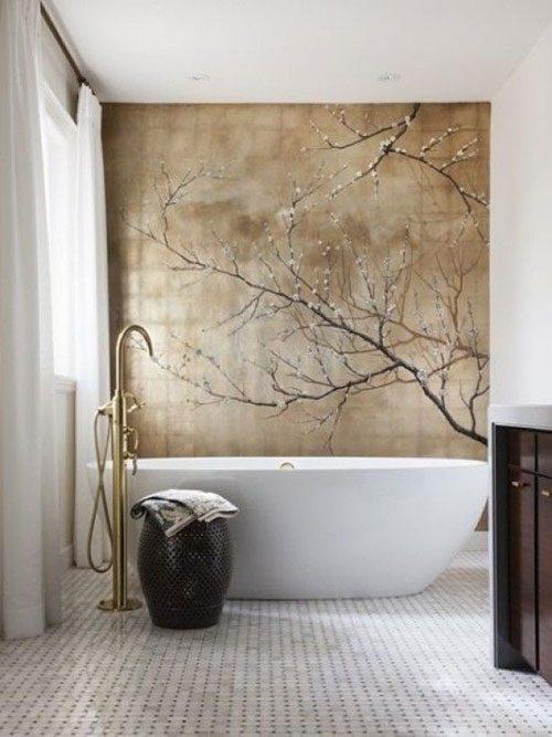 Schilderij in de badkamer badkamers voorbeelden - Trend schilderij slaapkamer ...