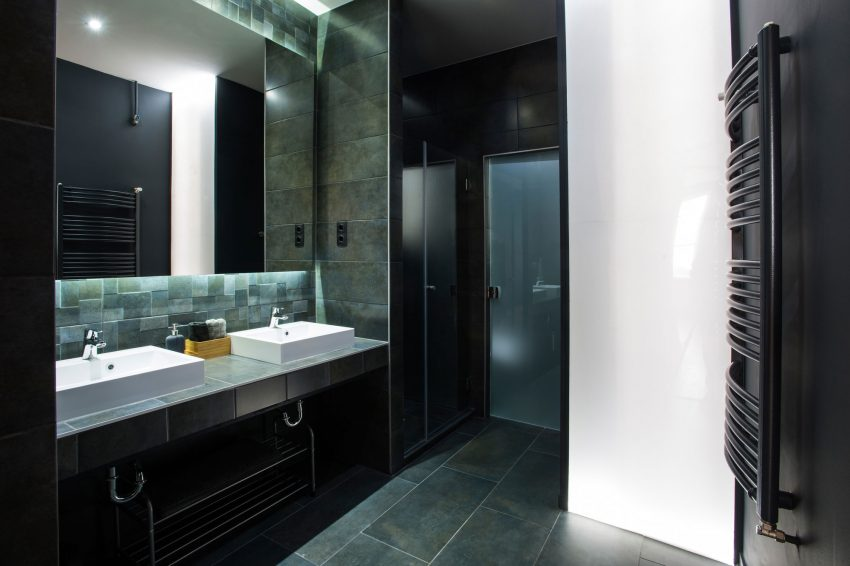 Sfeervolle Badkamer Ideeen : Hout afwerking badkamer u devolonter