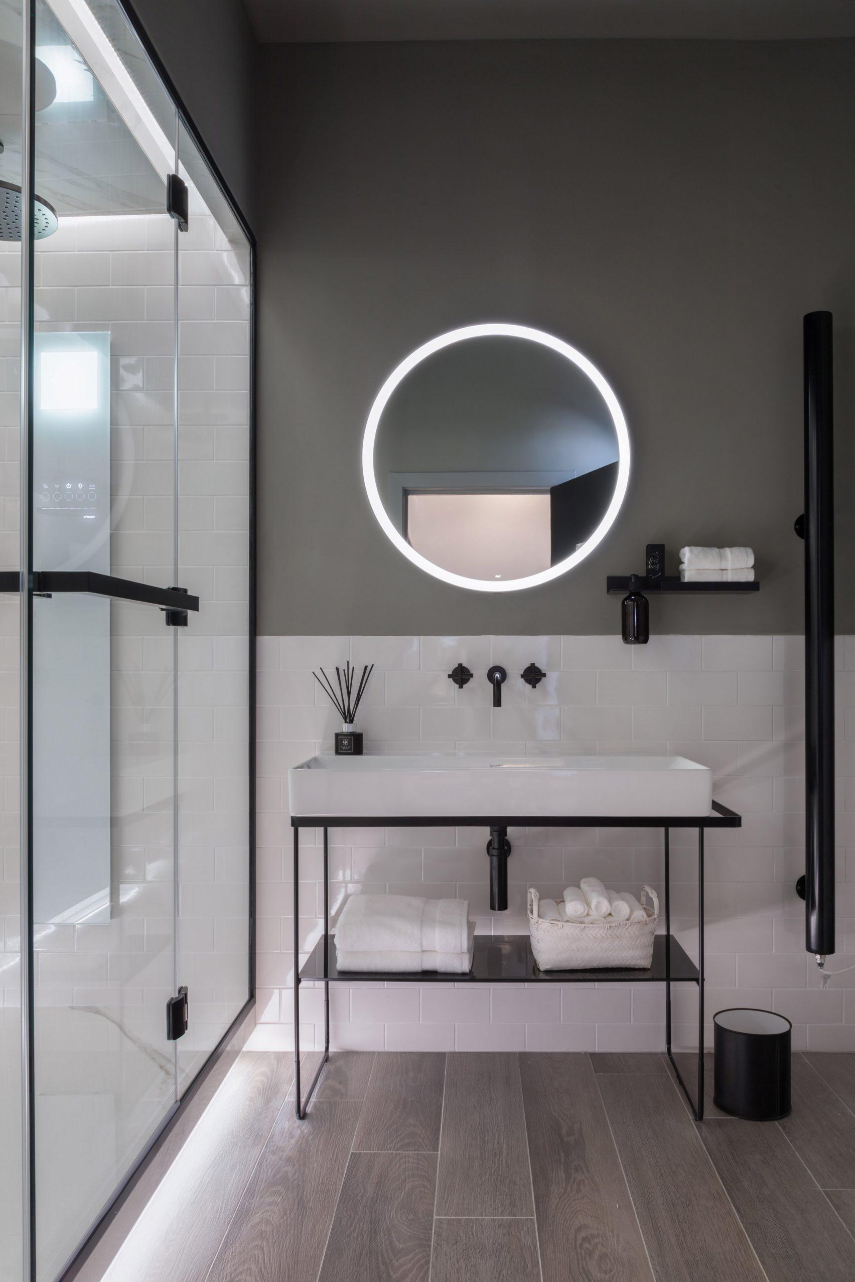 Sieger Design creëert kleine spa badkamer voor kleine appartementen