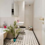 Simpele, tóch stijlvolle badkamer