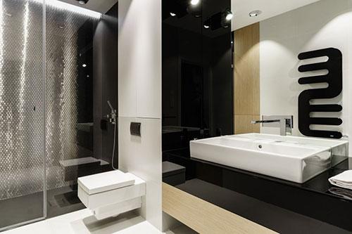 Indeling Smalle Badkamer : Smalle badkamer met glamorous ontwerp badkamers voorbeelden