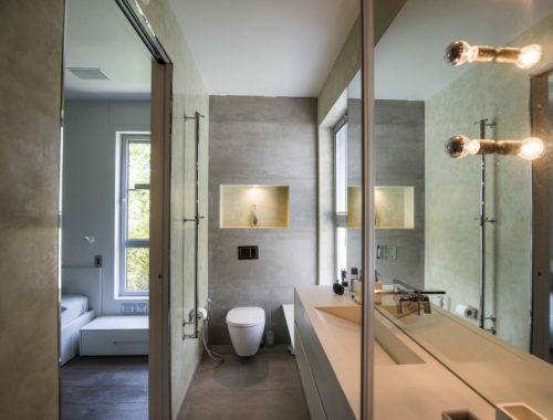 Smalle badkamer inrichting