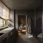 Sobere badkamer uit New York