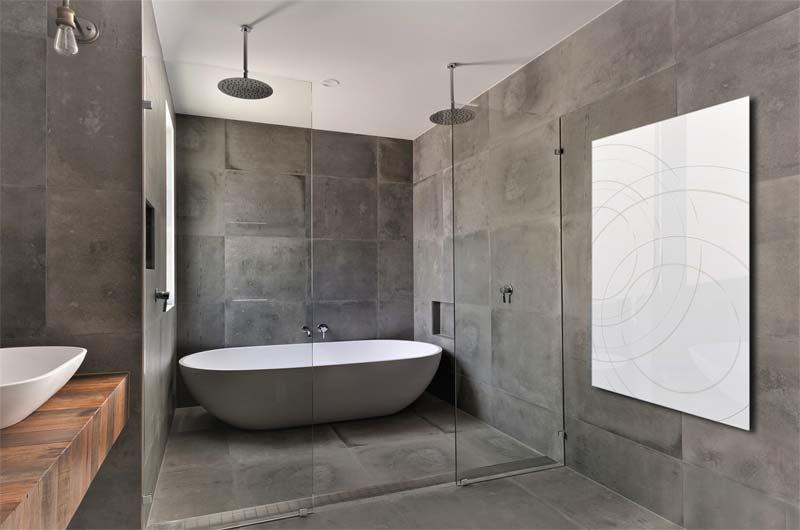 soorten badkamer verwarming infrarood verwarming