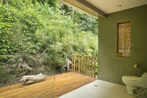 Spa badkamer in Costa Rica