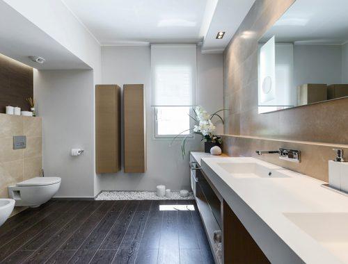 Zen badkamer met bruine tinten badkamers voorbeelden - Sfeer zen badkamer ...