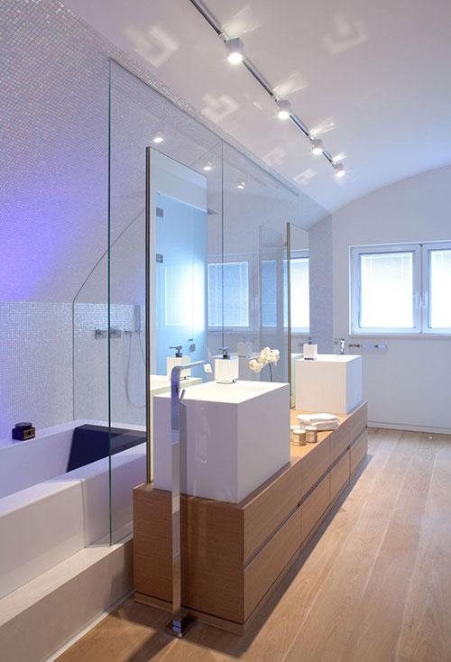 Speels modern badkamer ontwerp
