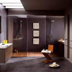 Stijlvol ontwerp van moderne badkamer