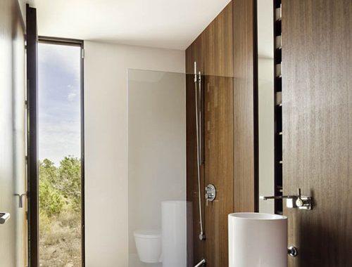 Stijlvolle badkamer in Formentera