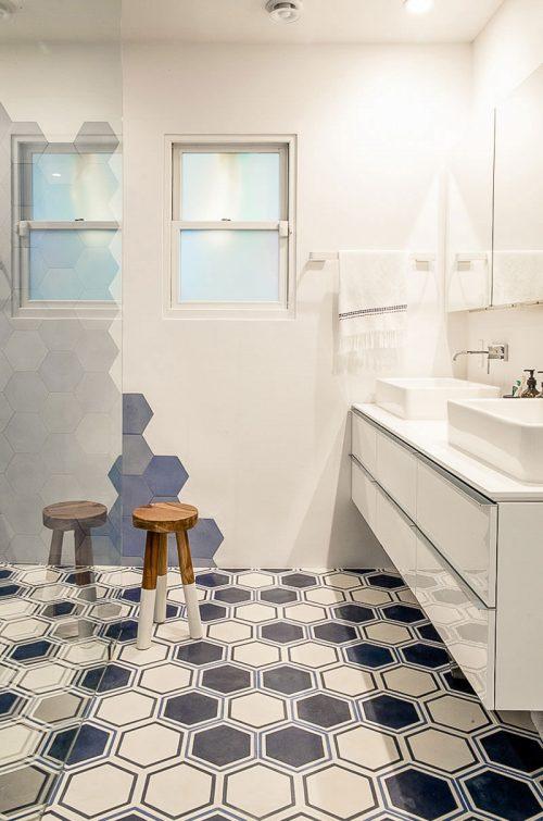 Stijlvolle badkamer van interieurontwerper Benedetta Amadi