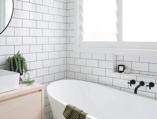 Stijlvolle badkamer van The Coal Shack