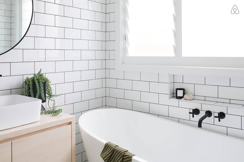 Stijlvolle badkamer van the coal shack badkamers voorbeelden