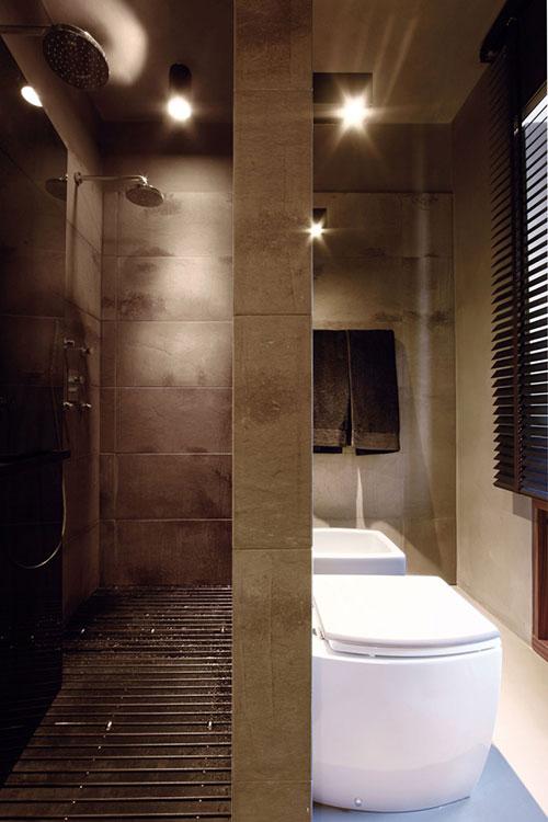 Stijlvolle badkamer zonder bad badkamers voorbeelden - Italiaanse douche mosai dat ...