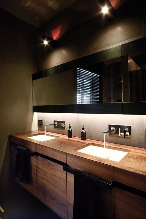 Stijlvolle badkamer zonder bad - Badkamers voorbeelden