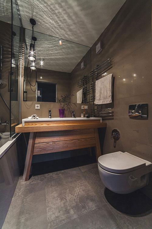 Stoere Badkamer Met Sfeerverlichting Badkamers Voorbeelden
