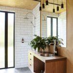 Stoere badkamer van Easterbrook House