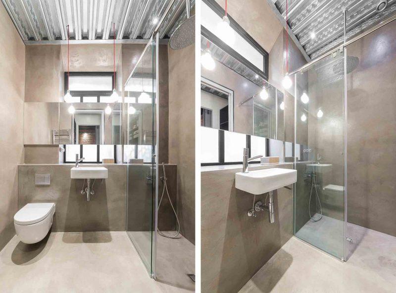 Stoere badkamers van een industrieel loft appartement uit ...