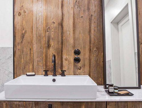Stoere, chique vintage badkamer van Lucja en Lucy