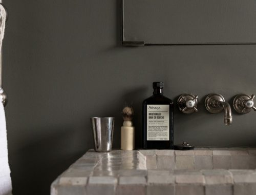 Stoere loft badkamer van Ilse Crawford