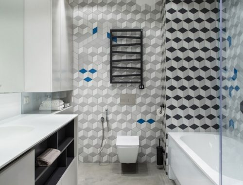 Stoere moderne badkamer door Azovskiy & Pahomova Architects