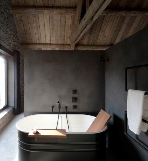 Stoere rustieke badkamer door architectenbureau Jem - Badkamers ...