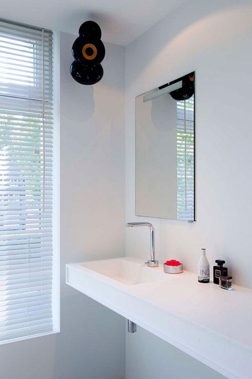 Strakke badkamer stuken