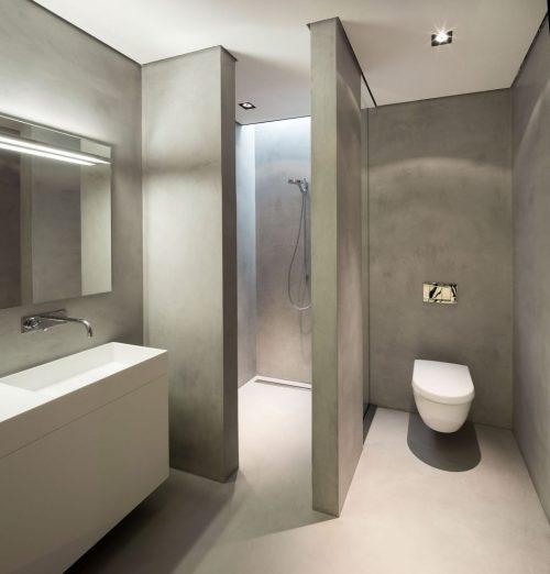 Strakke badkamer met tadelakt badkamers voorbeelden - Fotos italiaanse douche ontwerp ...