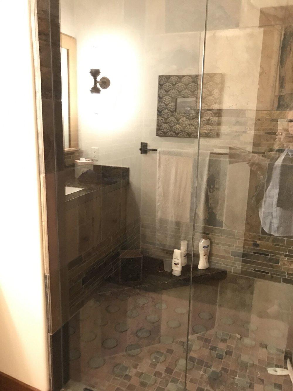 Subtiele badkamer makeover
