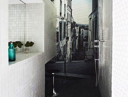 Super kleine badkamer inrichting