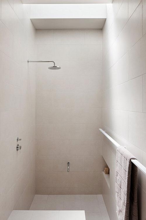 Super minimalistische badkamer