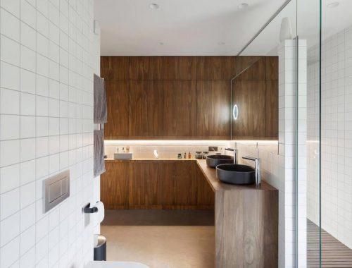 Super mooie moderne design badkamer