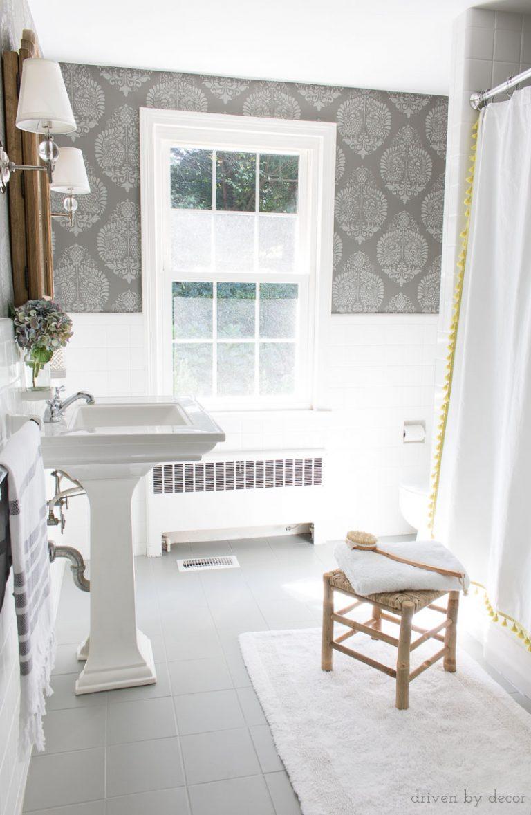 tegels verven badkamer