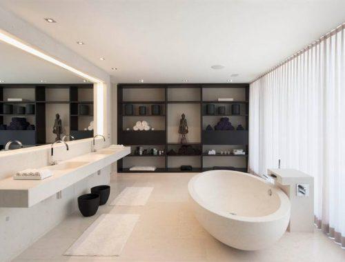 TL buizen in de badkamer