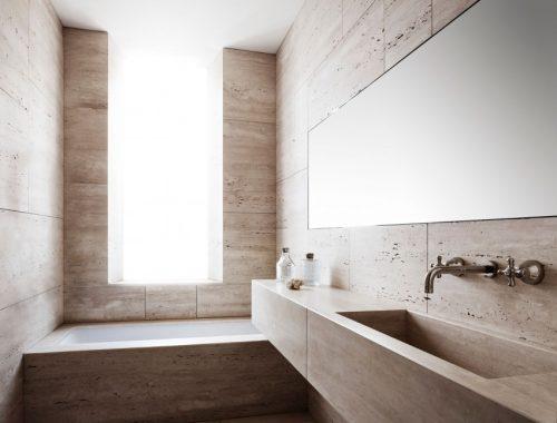 Travertijn badkamer