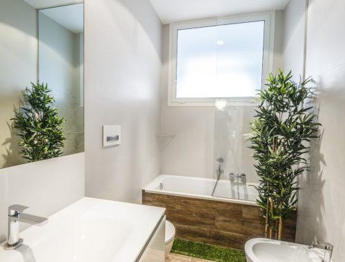 Tuin badkamer uit Rome