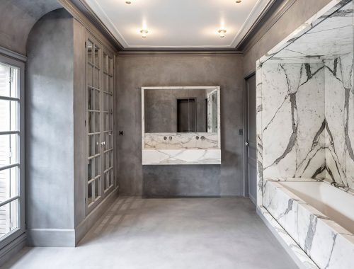Rechthoekig Ontwerp Badkamer : Klassiek meets industrieel badkamers voorbeelden