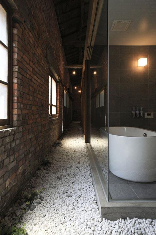 Unieke Japanse badkamer