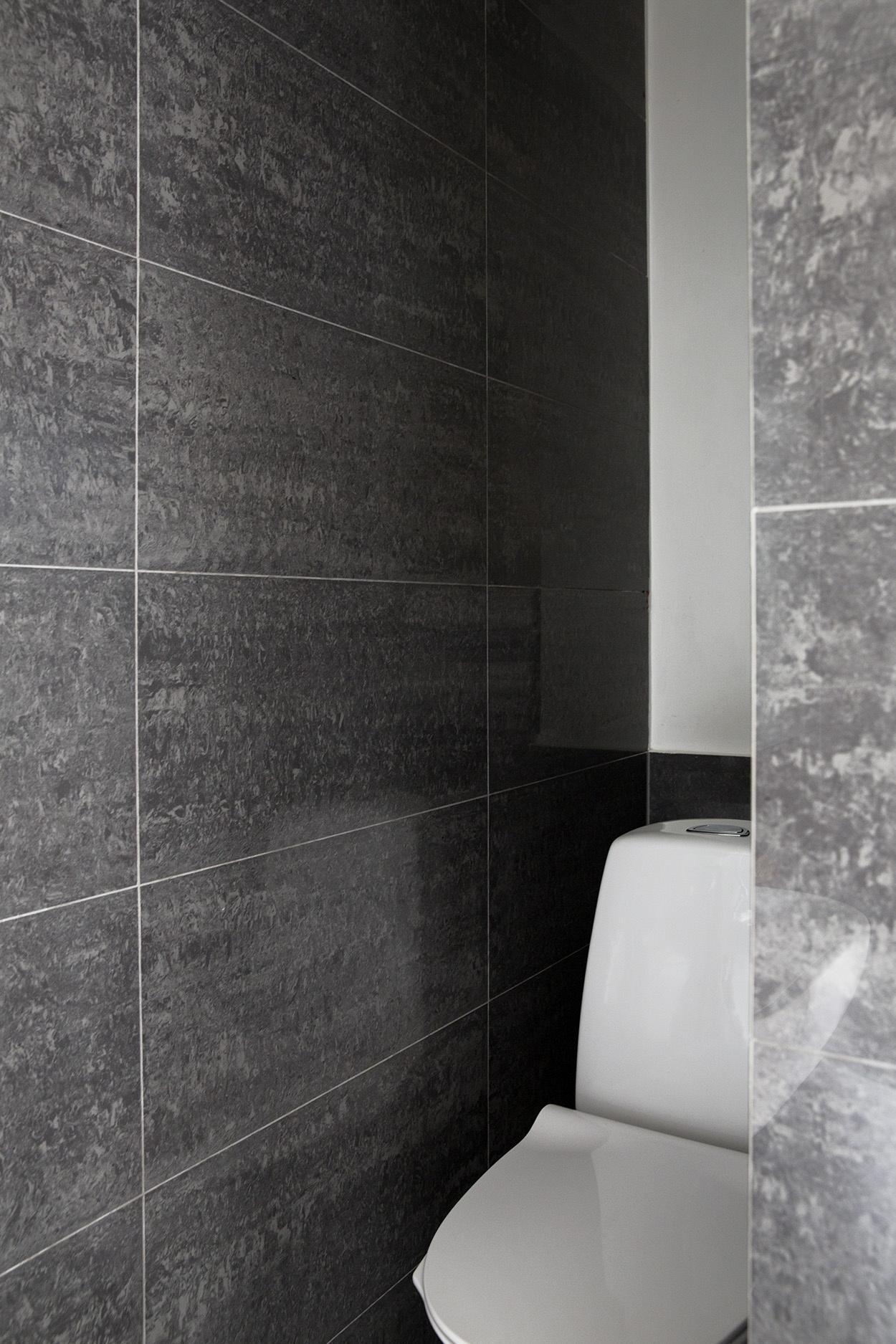 Verrassend ruime badkamer in een klein appartement van 52m2