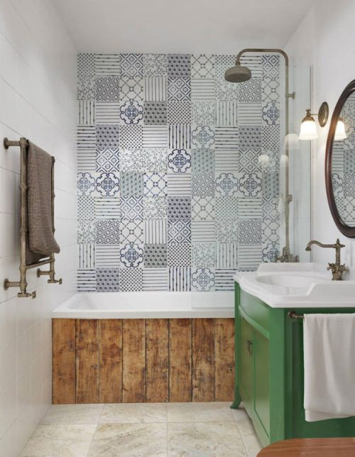 Vintage badkamer door int2 architecture badkamers voorbeelden - Image deco badkamer ...