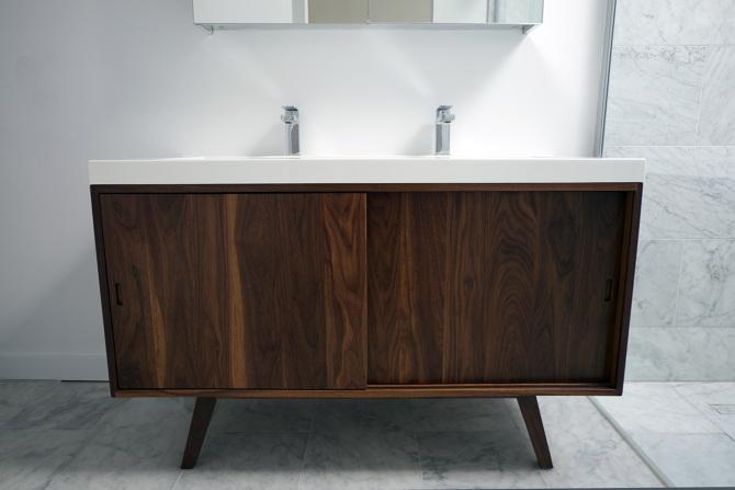 Badkamer Meubel Antiek : Vintage badkamermeubel van mitz takahashi badkamers voorbeelden