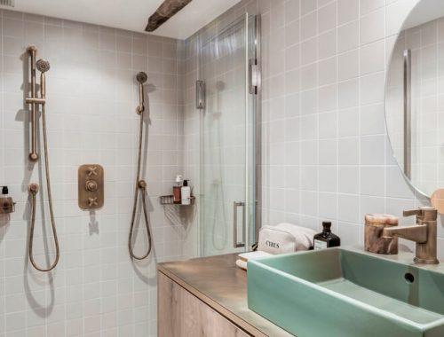 Rustiek Vintage Badkamer : Stoere eclectische badkamer uit amsterdam badkamers voorbeelden
