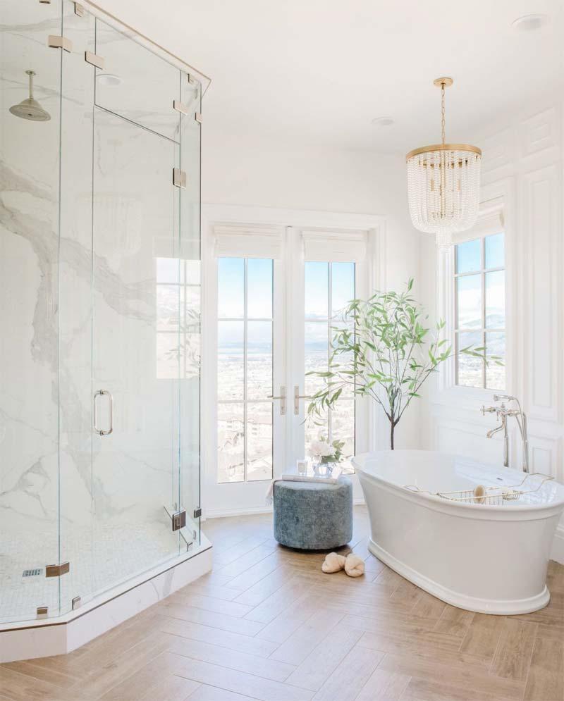 visgraat pvc vloer badkamer